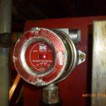 Foto de un detector de gas hidrógeno