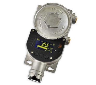 Foto de un detector de gas