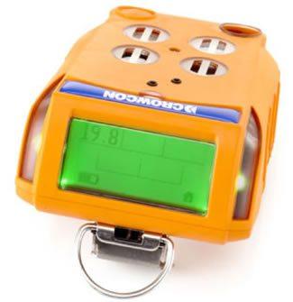 Foto de los detectores de gas portátil marca crowcon