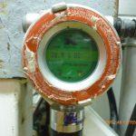 Fotografía de un detector de oxígeno
