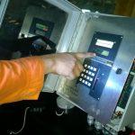 Fotografía de un monitor de detección de gases