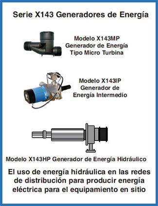 Imagen de los generadores de energía para producción de energía eléctrica