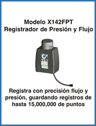 Imagen de un registrador de presión y flujo para válvulas hidráulicas
