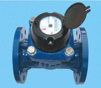 Fotografía de un medidor de agua sin sensor de medición