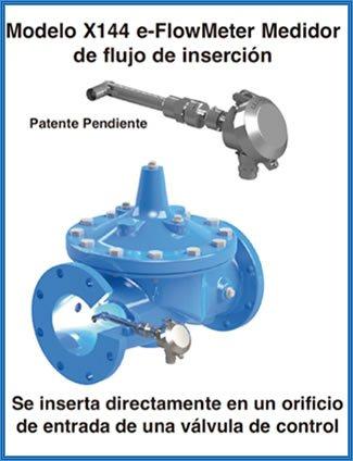 Imagen de un medidor de flujo de presión para válvulas hidráulicas
