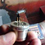 Partes de un detector de gases fijo
