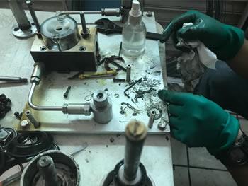 Mantenimiento y calibración de instrumentación industrial